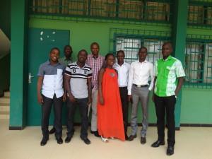 réunion Trimestrielle des équipes  ivoiriennes (ECOPAY-UJLoG et SECALIM-UAO): Daloa,  12 Mai 2015