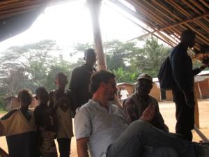 Entretien avec les villageaois